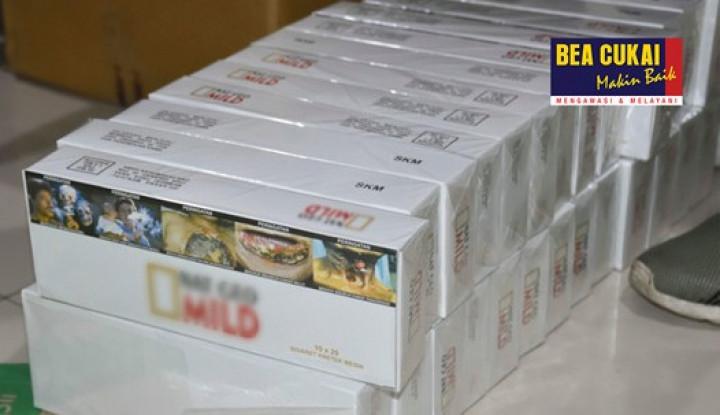 Dijual Online, Rokok Ilegal Diamankan Bea Cukai Marunda