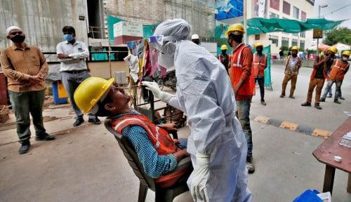 Corona Infeksi 7,6 Juta Orang, India Bakal Vaksin Seluruh Warganya