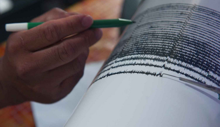 Gempa 5 Skala Richter Guncang Pandeglang Banten