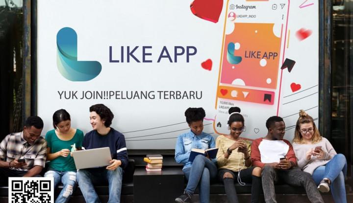 Masuki Pasar Indonesia, LIKE App Miliki 200.000 Pengguna