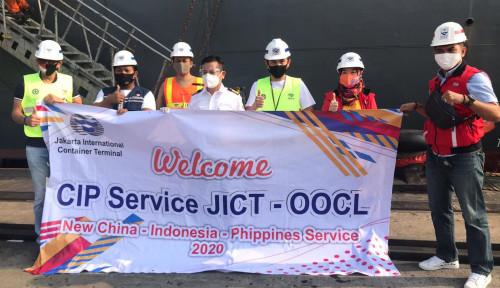 Perkuat Layanan, JICT Melayani Rute Baru China-Asia Tenggara