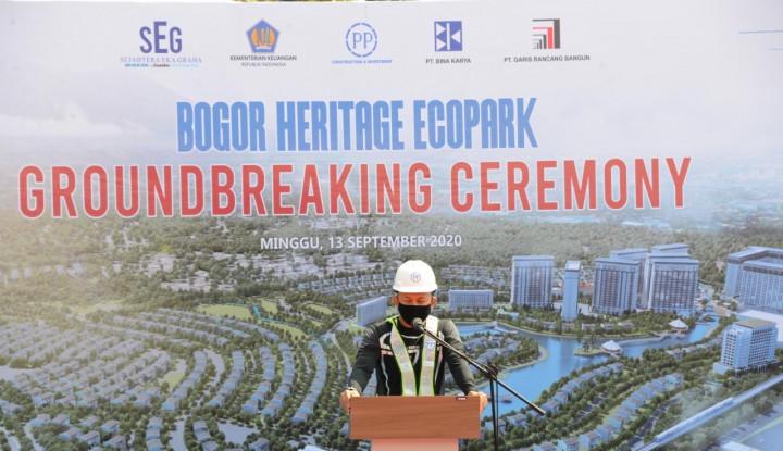 PTPP Mulai Lagi Satu Proyek, Kali Ini Apartemen dan Ecopark