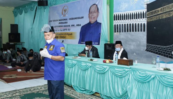 Syarief Hasan: Saya Bangga Warga Pesantren Sangat Menjiwai Pancasila