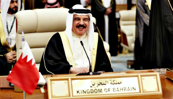 Raja Bahrain Nasihati Negara-negara Arab untuk Perdamaian Palestina