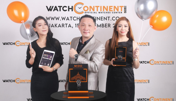 WatchContinent.co.id, Situs Resmi Jam Tangan Hadir di Indonesia