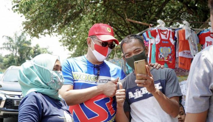Bamsoet Minta Pedagang Jangan Menyerah di Tengah Pandemi