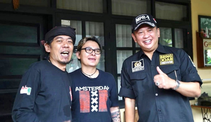 Bareng Budi Dalton, Bamsoet Dukung Jokowi Kembalikan Mapel Pancasila