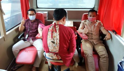 Di Tengah Pandemi, BNI Syariah Cabang Medan Gelar Donor Darah