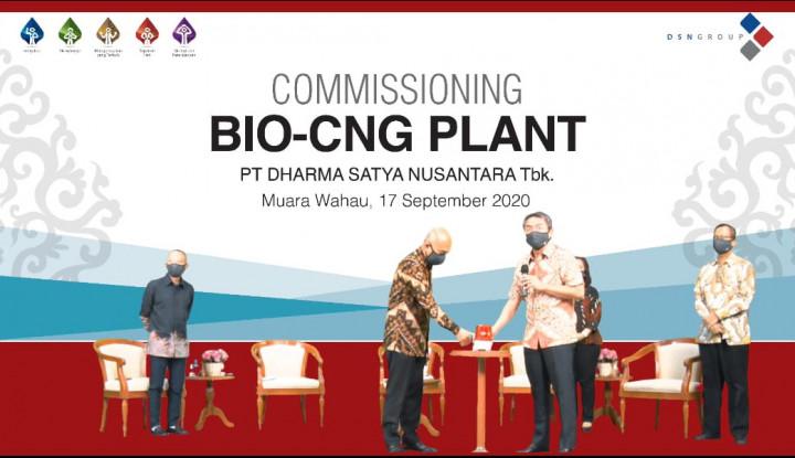 DSNG Lakukan Uji Coba Produksi Bio-CNG Plant di Kaltim