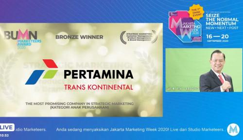 Raih Penghargaan dari Marketeers Awards 2020, PTK: Ini Energi Tambahan untuk Berinovasi