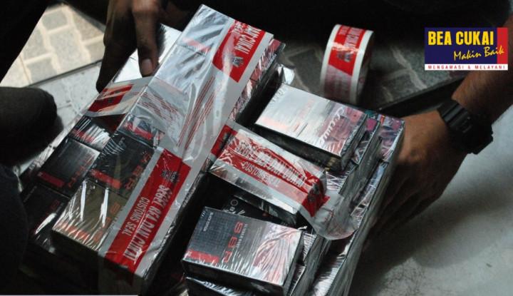 Bea Cukai Jatim Gagalkan Peredaran Rokok Ilegal Lewat Operasi Patuh Cukai