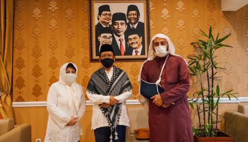 Syekh Ali Jaber Kunjungan Balik ke Kediaman Mahfud MD