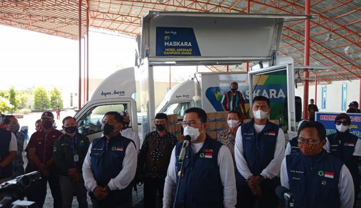 Janji Ridwan Kamil: Bantuan Desa Naik Tahun Depan