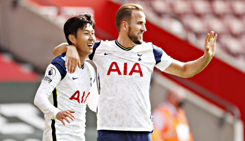 Son Heung-min Bawa Tottenham Menang Telak atas Southampton