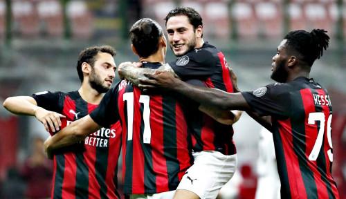 Begini Perkiraan Pemain Laga Milan VS Napoli