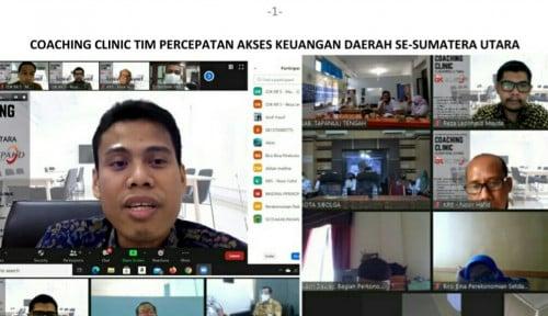 Tingkatkan Kompetensi TPAKD di Sumut, OJK Sumbagut Gelar Coaching Clinic TPAKD