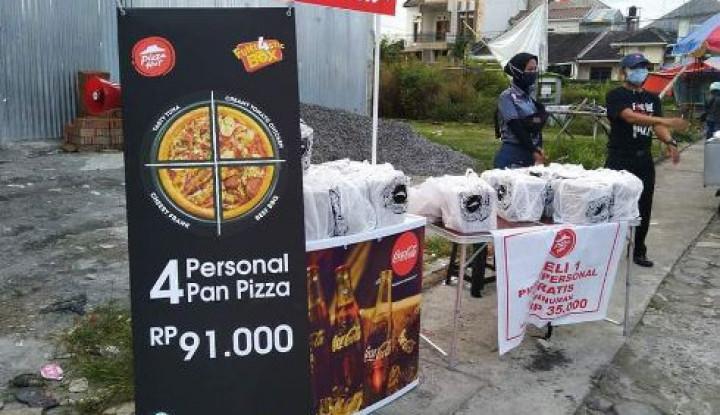 Nahas, Laba Bersihnya Anjlok, Pizza Hut sampai Jualan di Pinggir Jalan