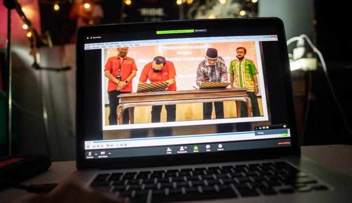 Dukung Program Madrasah Digital Belajar Jarak Jauh, Telkomsel Gandeng Kemenag