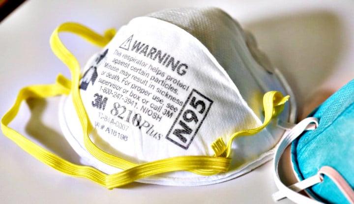 Masker N95 Bisa Dipakai Ulang Lho, Asalkan Dipanggang 71 Derajat