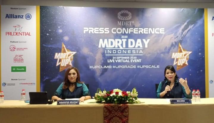 MDRT: Pandemi Bukan Halangan, Agen Harus Manfaatkan Digitalisasi Asuransi