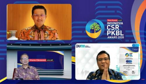 SUCOFINDO Raih Best PKBL for Indonesia CSRxPKBL Award 2020