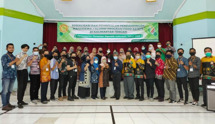 Antusiasme 30 Generasi Milenial Dukung Food Estate Kalteng