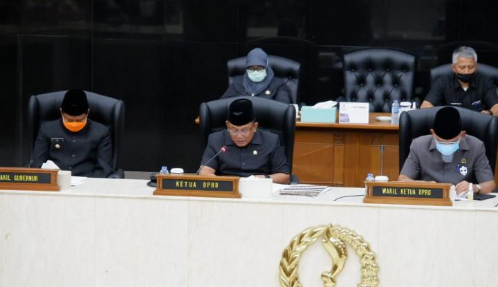 DPRD Jabar Minta Gubernur Fokus Pemulihan Ekonomi