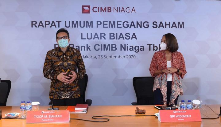 CIMB Niaga Rombak Dewan Komisaris, Dato' Abdul Rahman Ahmad Resmi Terpilih!