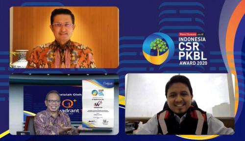 Waskita Sabet Penghargaan The Best PKBL for Indonesia CSR X PKBL Award 2020
