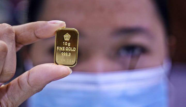Selasa, 20 Oktober 2020: Harga Emas Antam Masih Betah di Rp1.008.000 Per Gram