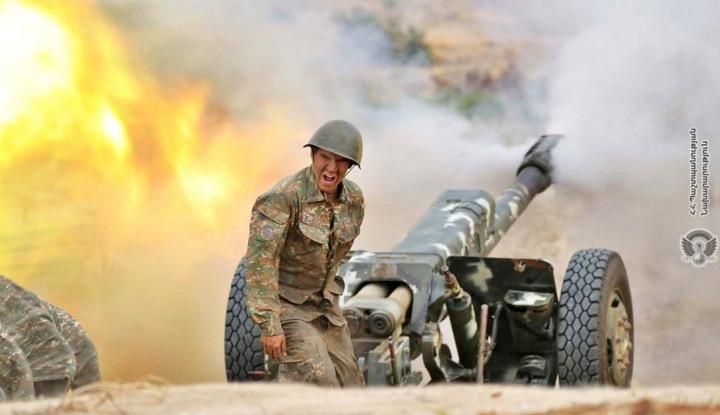 Lagi, 6 Roket Militer Armenia Hantam Permukiman Sipil
