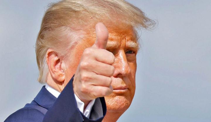 Kondisi Paru-Paru Trump Terus Dipantau Dokter Presiden