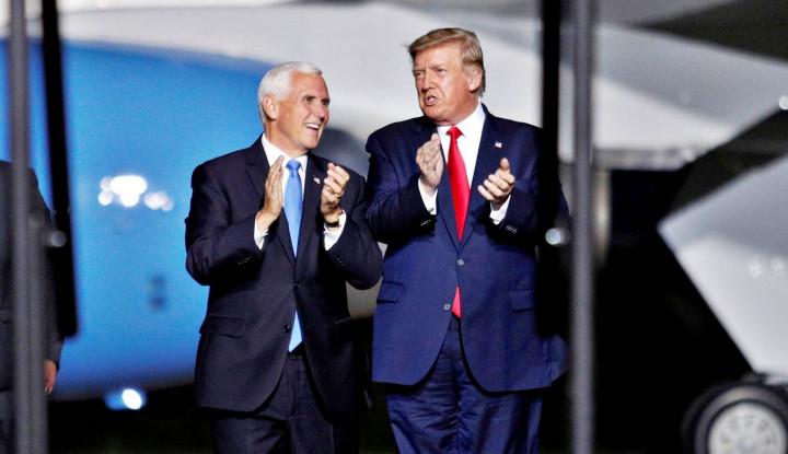 Trump Rupanya Belum Alihkan Tugas Kepresidenan ke Mike Pence, Kenapa?