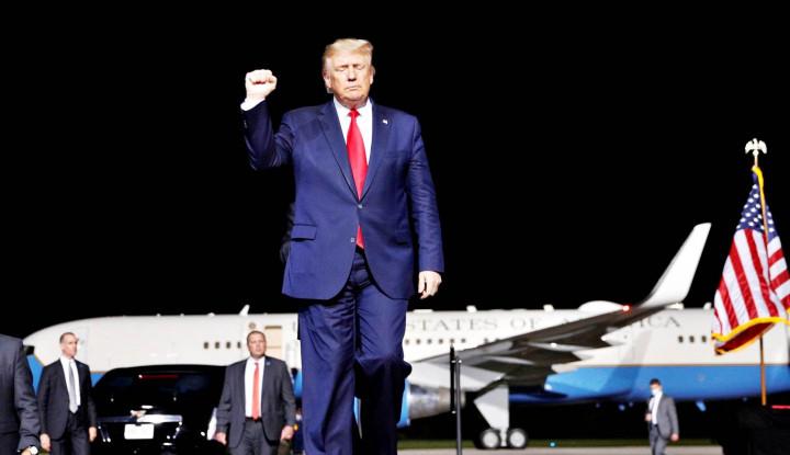 Gedung Putih Sampaikan Kabar Terbaru Donald Trump, Memburuk?