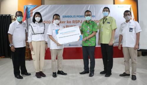 Peduli Covid-19, BGR Logistics Sumbang 8.000 Masker