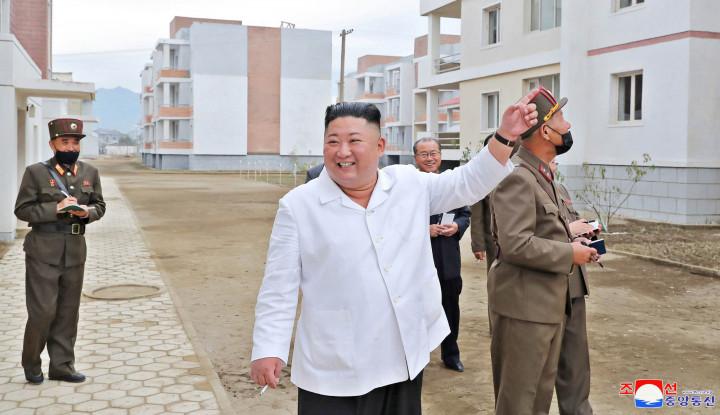 Mengejutkan, Kim Jong-un Perintahkan Bangun 25.000 Unit Rumah buat Warganya
