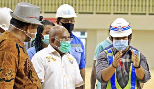 Gubernur Papua Minta Akses Jalan Tempat Pertandingan Dirampungkan