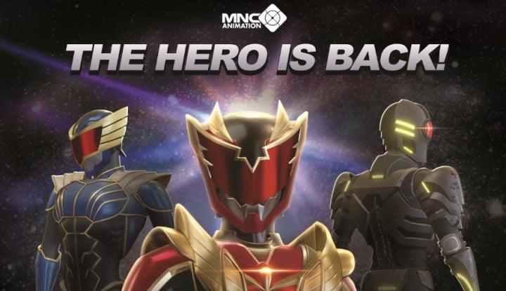 Melalui Anak Usaha, MNC Studios Produksi Animasi Super Hero Indonesia