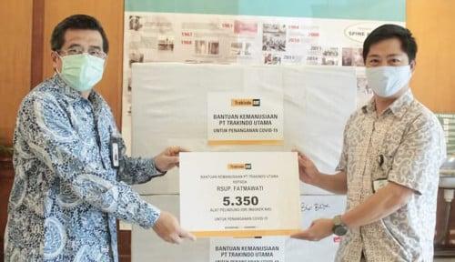 Ikut Tangani Covid-19, Program Bantuan Kemanusiaan Trakindo Capai 23 Titik di Tanah Air