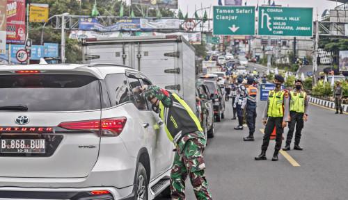 PPKM Bogor, Kendaraan Menuju Puncak Siap-siap Putar Balik Bila Tak Bawa Surat Rapid Antigen