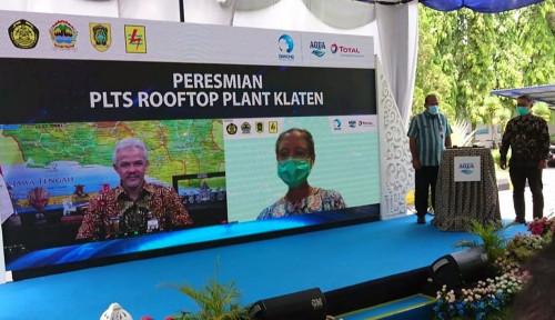 Terbesar di Jateng, PLTS Atap Pabrik Danone-Aqua Hasilkan 4 GWh Per Tahun
