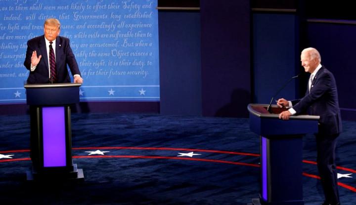 Trump Positif Covid-19, Debat Capres AS 15 Oktober Dibatalkan