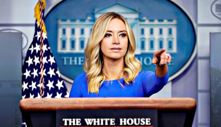 Kayleigh McEnany, Sekretaris Cantik Trump Tersengat Corona