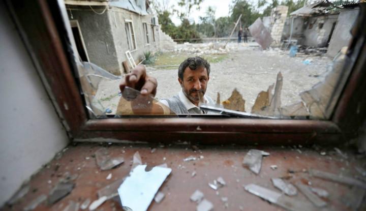 Mencekam, Bunker Jadi Pilihan Terakhir Warga Azerbaijan