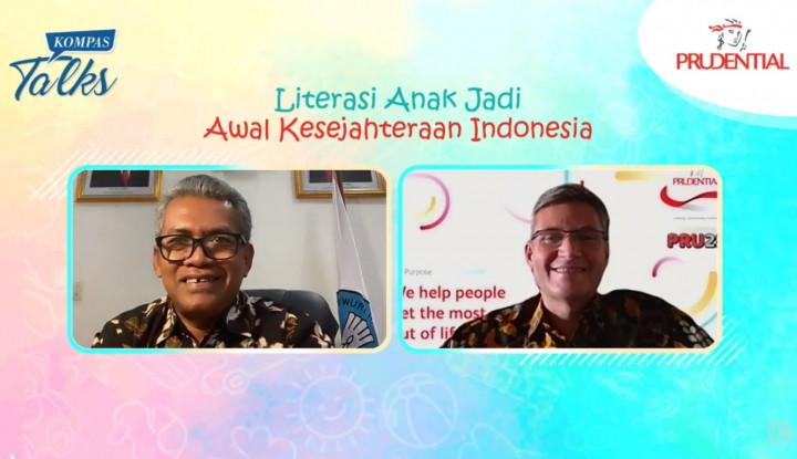 Sejahterakan Indonesia, Prudential Berikan Literasi bagi 200 Ribu Anak
