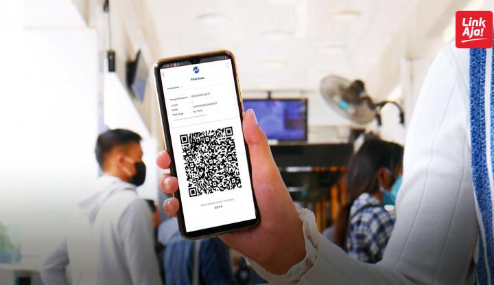 LinkAja Bidik Transaksi Digital Tije