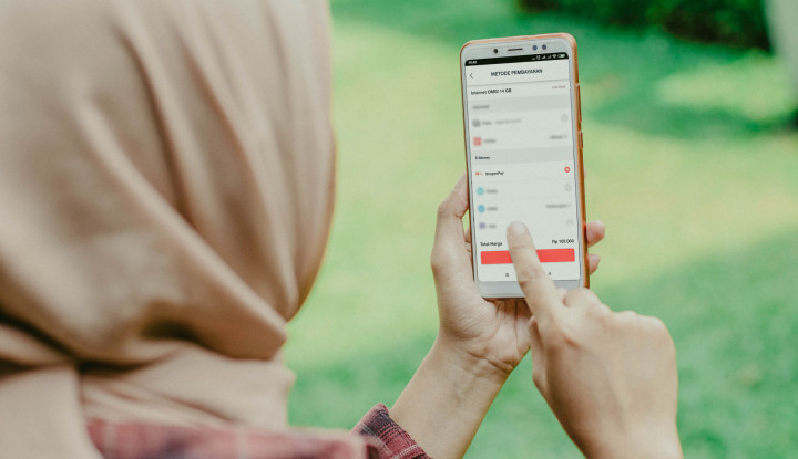 Isi Pulsa Telkomsel Bisa Bayar Lewat ShopeePay