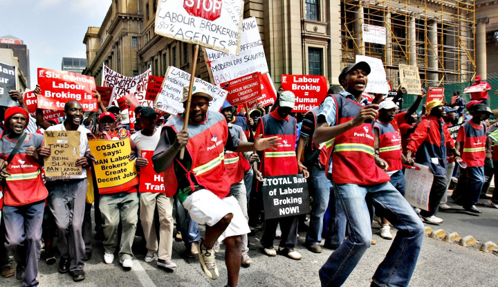 Buruh Afrika Selatan Mogok Total, Ternyata Awal Perkaranya...
