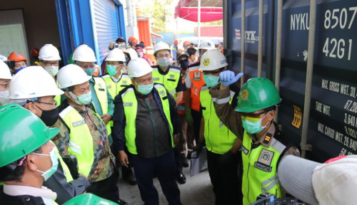Bea Cukai dan Komisi XI DPR Tinjau Impementasi NLE di Pelabuhan Tanjung Emas