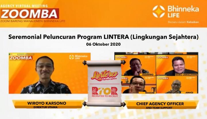 Bidik Pasar Kelas Menengah, Bhinneka Life Perkenalkan Program Lintera
